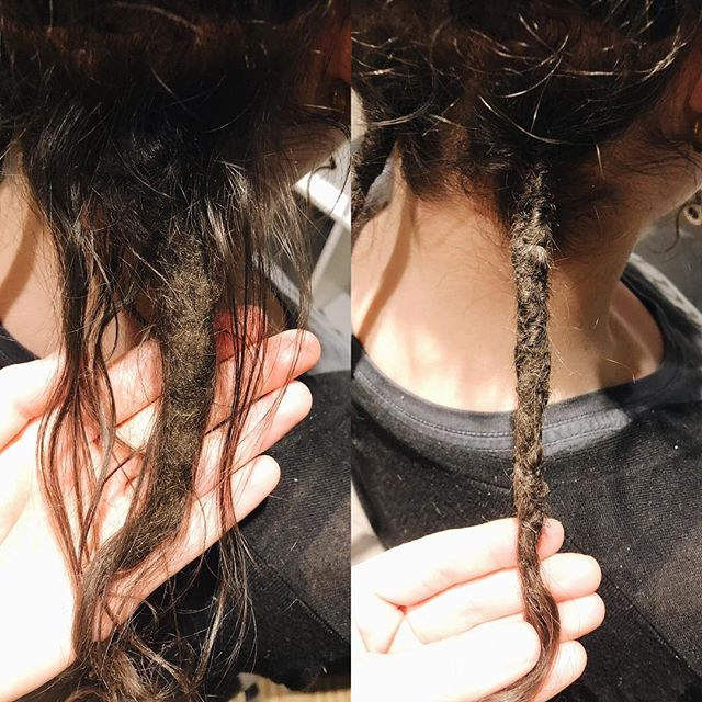 There's not a lot that can't be fixed!    #siouxfalls #visitsiouxfalls #weareheresiouxfalls #dreadlocks #dreadlockstyle #siouxfallsdreadlocks #southdakota #southdakotadreadlocks #dreadstagram #girlswithdreads #guyswithdreads #dreadmaintenance #dreadlockmaintenance