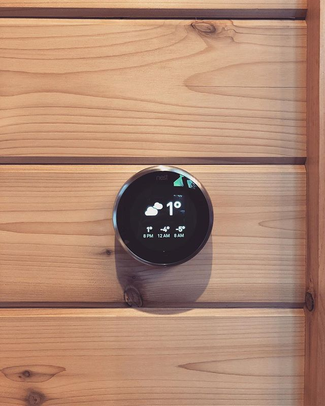 Nest Thermostat Weather Report