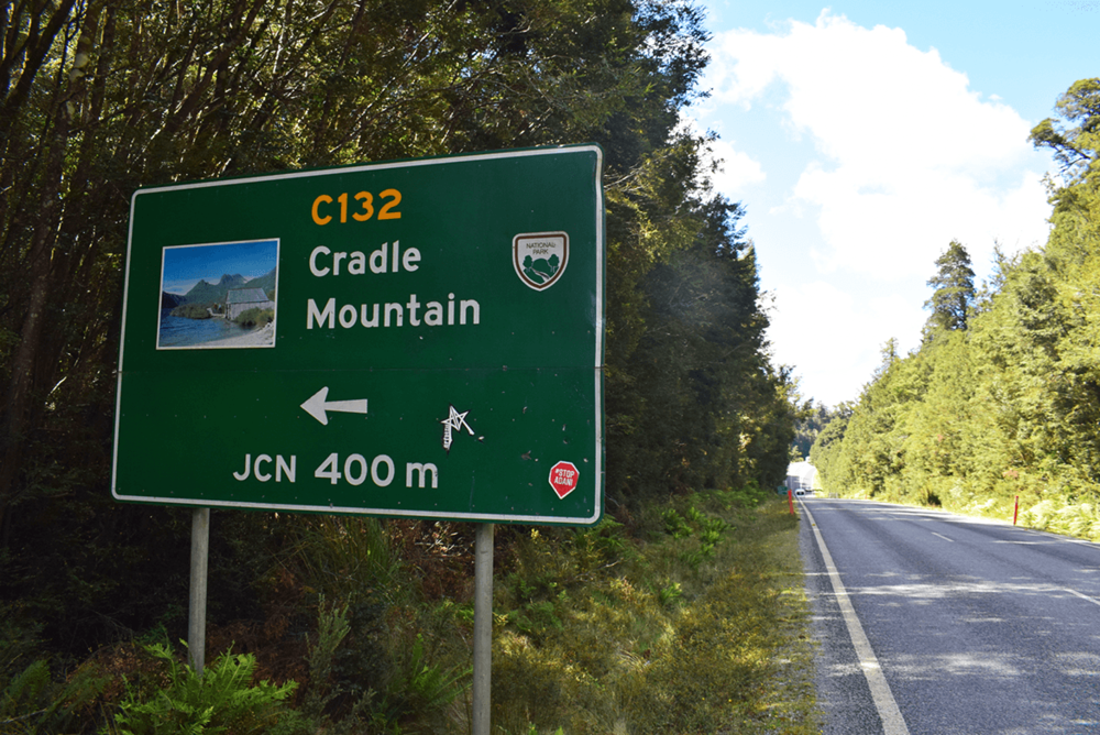 Started my journey towards cradle mountain and of course, I was decided to trek towards the mountain top.
