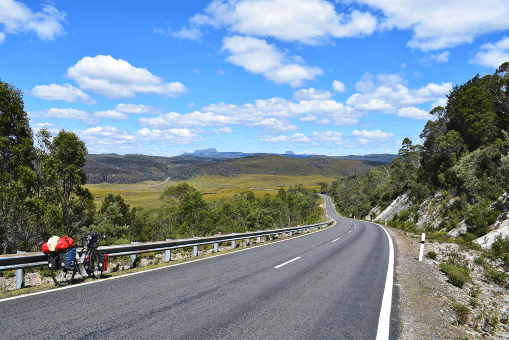 First view of Cradle Mountain.