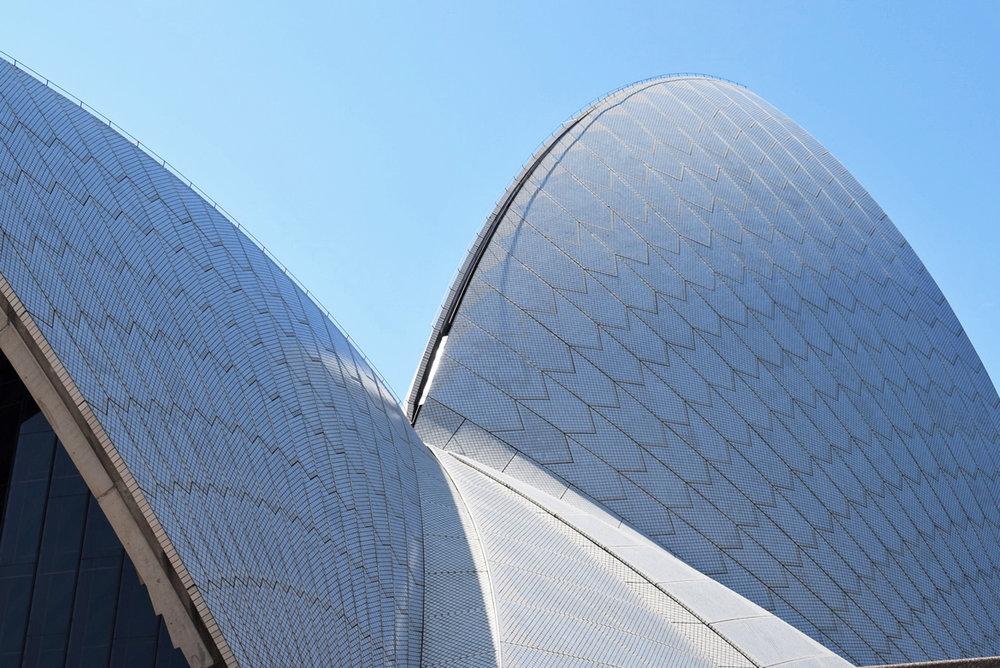 Sydney Opera House.