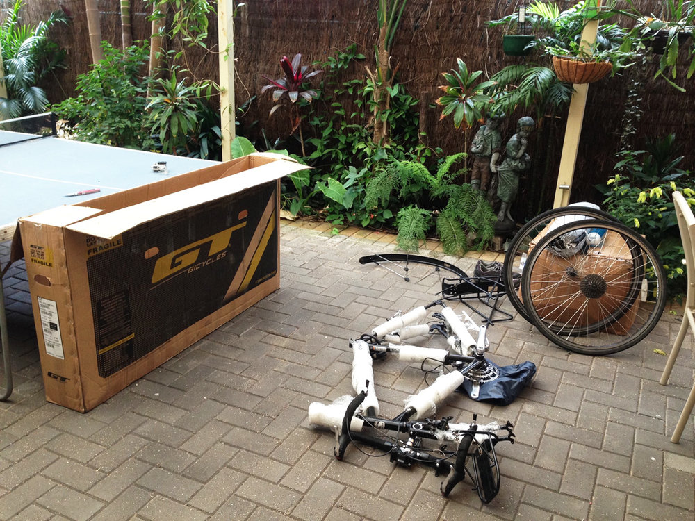 All set to assemble my bike.