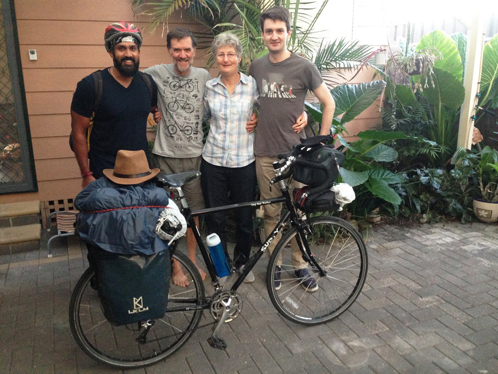 Time to say goodbye to the beautiful family. I wanted to buy some accessories for bike and decided to leave Morphet vale and move to closer to the city. I got in touch with Anthea & Steve and the accepted me to stay with them on short notice.