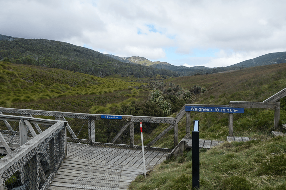 Journey towards the top starts from here. Prior to the trek, I had to register myself at the registration booth, near Ronny Creek, Cradle Mountain.