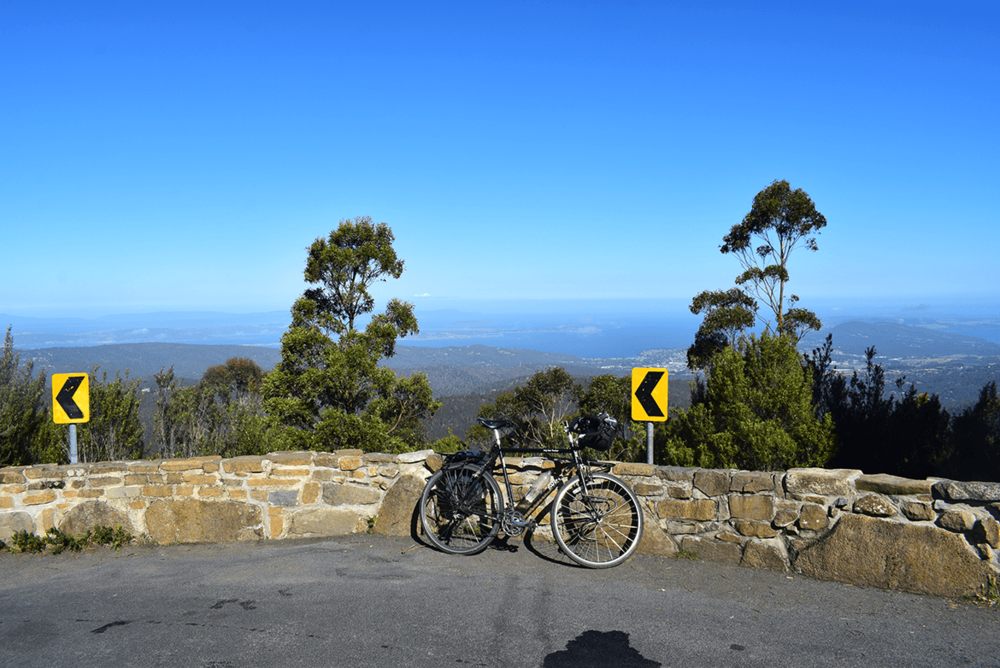 After cycling through Bruny Island, I decided to visit Mount Wellington, spend a great time there by riding up in the pleasant climate.