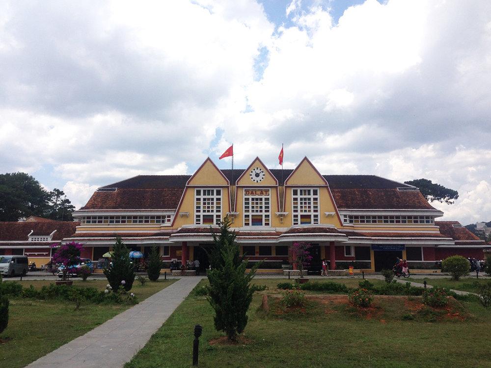 Da Lat Railway Station.
