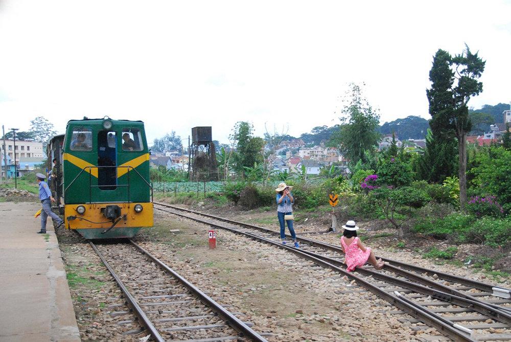 Girl.... On track!