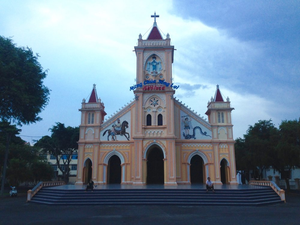 Tan Huong Church, Kon Tum City.
