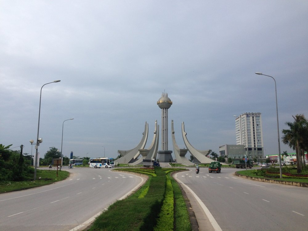 Thanh Hoa city welcomes you with this architectural display.