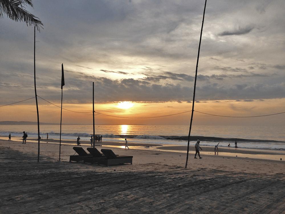 Sunrise view before leaving Mui Ne to Nha Trang.