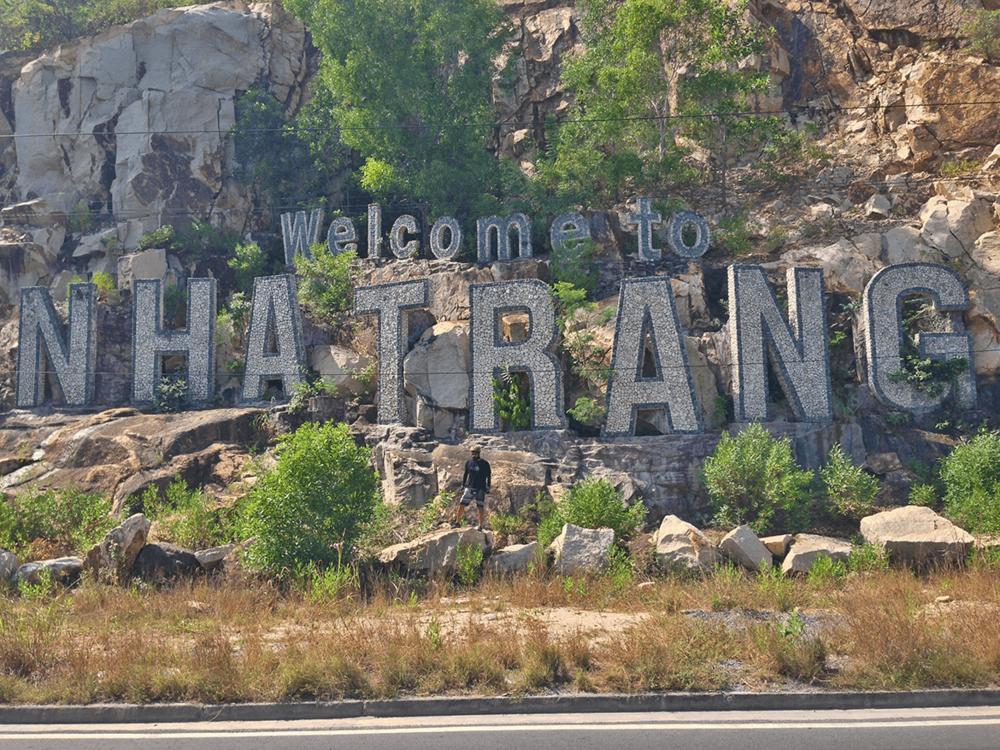 Entering Nha Trang city.