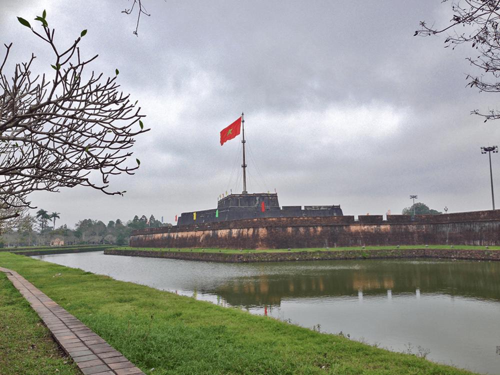 Ngo Mon Square, Citadel, Hue.