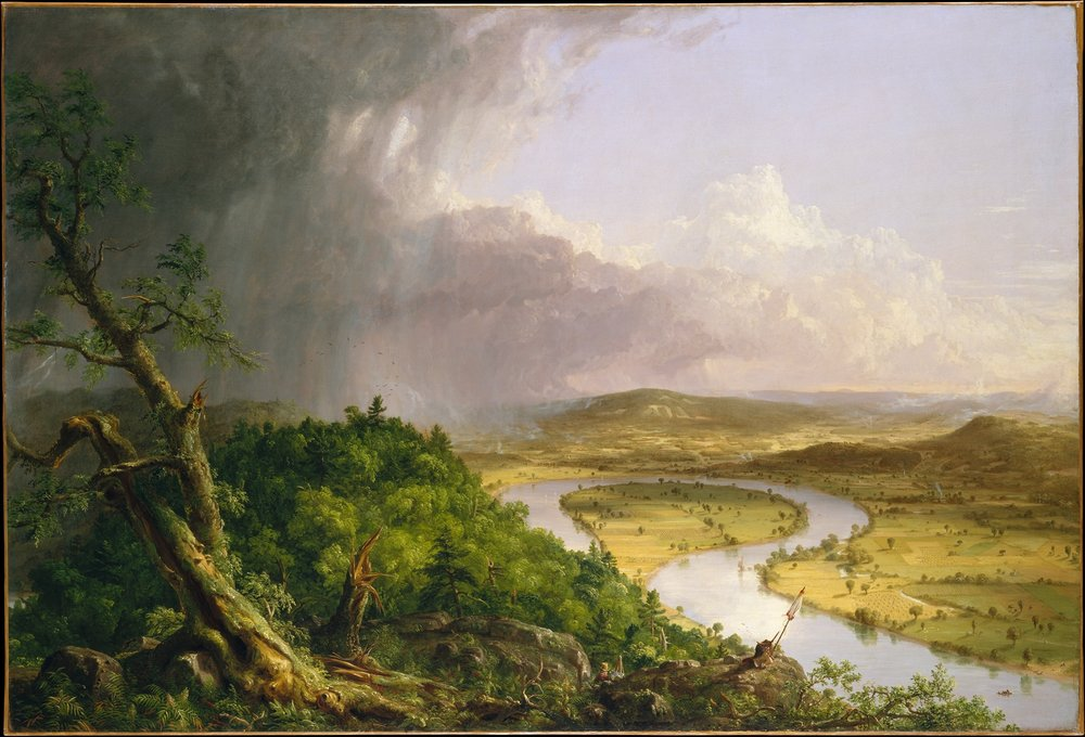 """""""The Oxbow"""" by John Cole, 1836"""