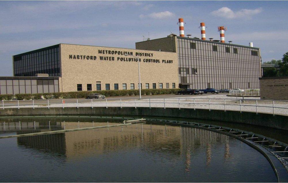 Wastewater treatment plant, Hartford Ct.