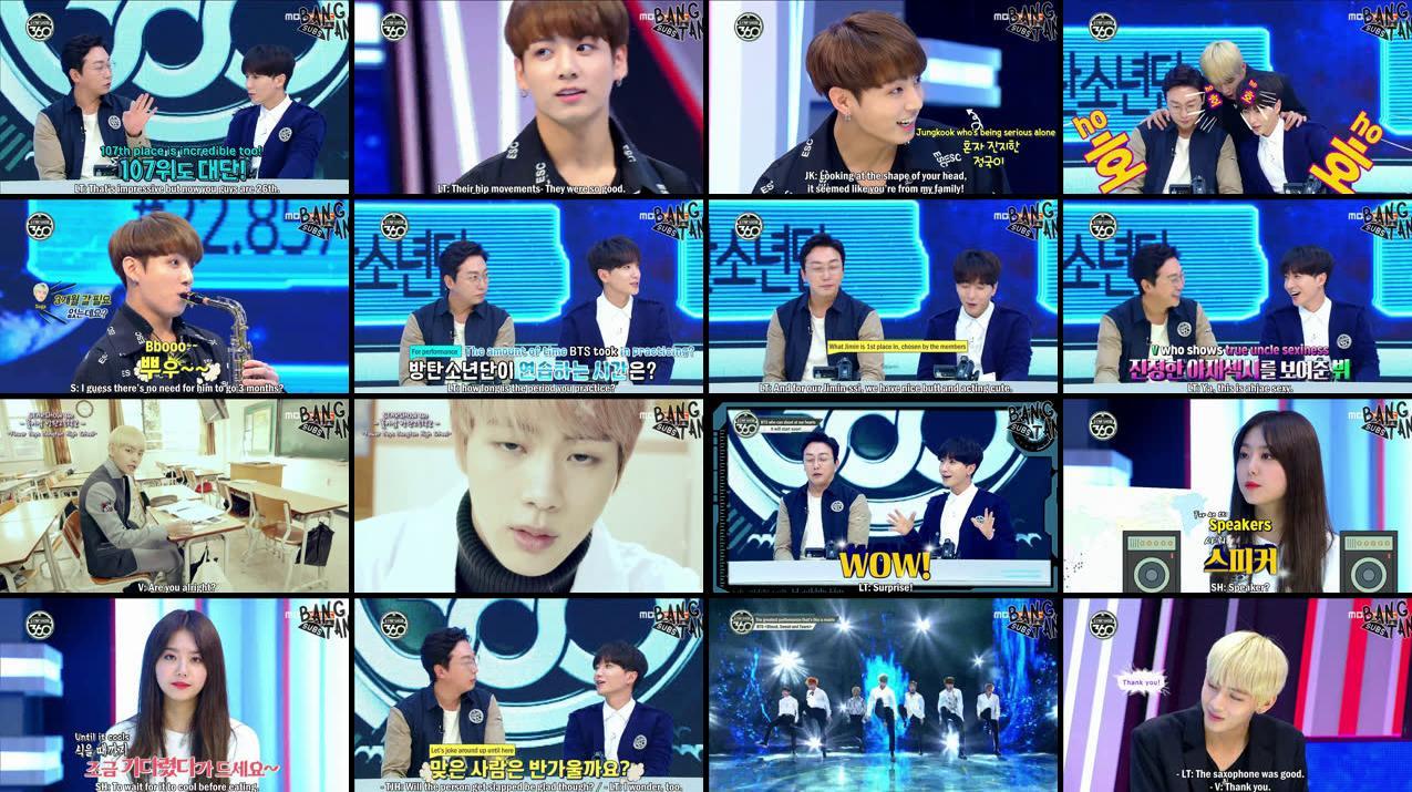 161107 Star Show 360 — BTS-TRANS/BANGTANSUBS
