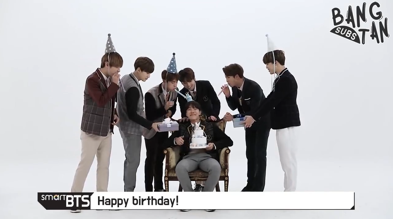 180218 [Smart TV Ch BTS] Happy Birthday TV — BTS-TRANS/BANGTANSUBS