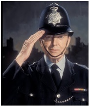 Dixon of Dock Green, the quintessential British police officer
