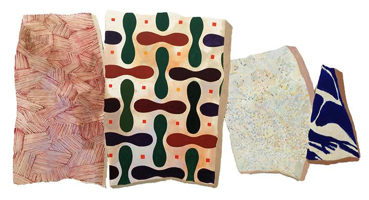 Hermine Ford, pattern, mosaic