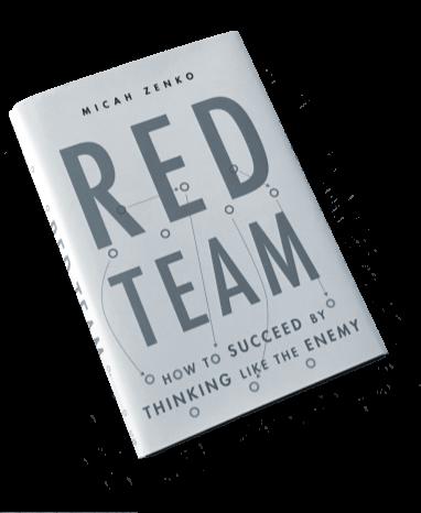 Micah Zenko's book  Red Team .