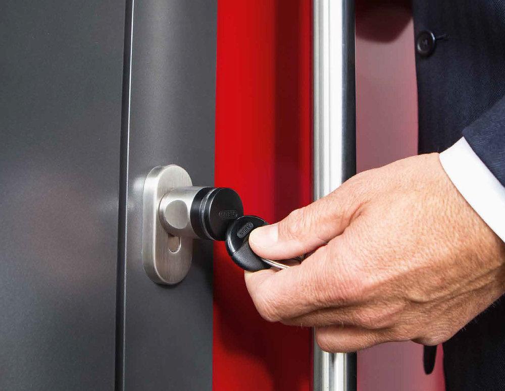 Ganz einfach per RFID-Schlüssel (Transponder)