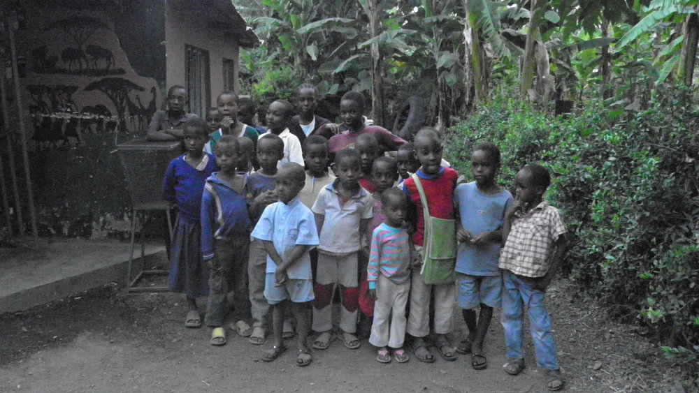 In the orphanage at Arusha (AF012)