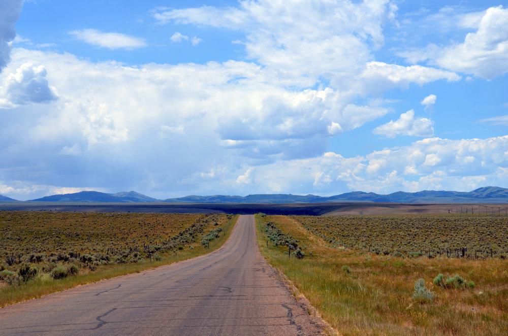 On the road to Rancho del Cielo Azul.JPG