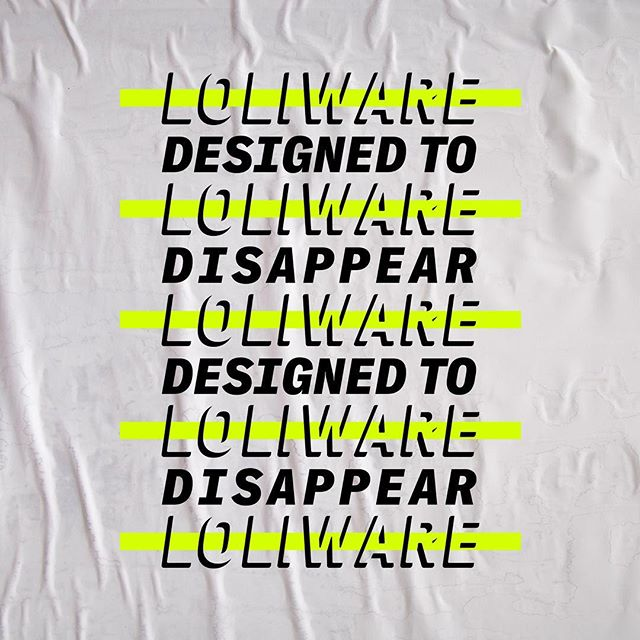 Never ✖️ Forever #loliwarestraw