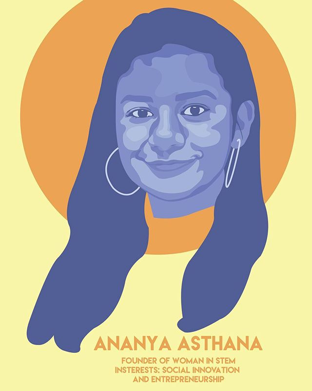 Today we feature our last @womeninstem_org ambassador, and the founder of Women in STEM, Ananya Asthana @ananya056 ! Read the full interview on our blog (link in bio) and read about the other ambassadors we've featured this past month! • • • • #illresearch #illustratedscience #environment #climatechange #history #zine #sciartist #webcomic #scicomm #scienceillustration #marinebiology #sciart #molecularbiology #cellularbiology #wildlifeconservation #naturalhistory #herpetology #herpetologist #amphibians #climatescience #sealevelrise #scientificillustration #entomology