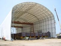 """Cerrey S.A. de C.V. of Nuevo Leon 108'W x 76'3""""H x 378'L Manufacturing assembly facility"""