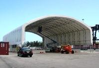 Truck Entrance Port Everglades Ft. Lauderdale, FL. 65'W x 120'L x 32'H