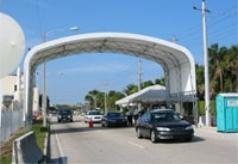 Convention Center Entrance Port Everglades Ft. Lauderdale, FL. 30'W x 20'L x 15'H