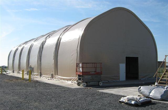 Flight Simulator Shelter U.S. Army, Ft. Drum, New York
