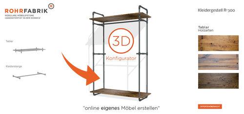 Rohrfabrik Modulare Möbel Aus Wasserrohren