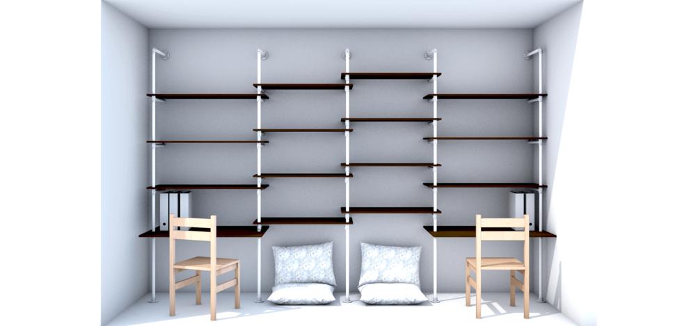 wandregale r 600. Black Bedroom Furniture Sets. Home Design Ideas