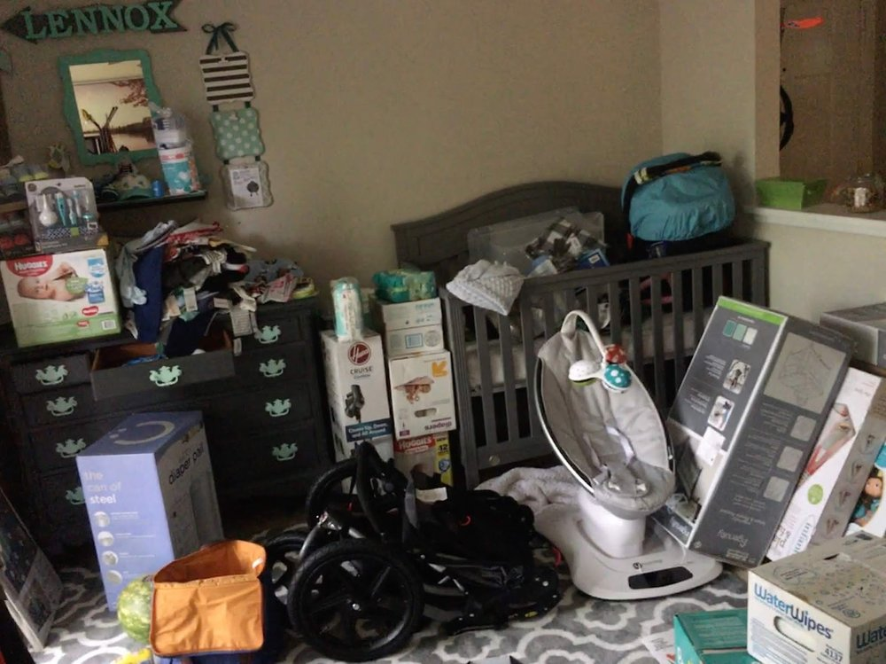 One of my favorite part of pregnancy, the shopping.