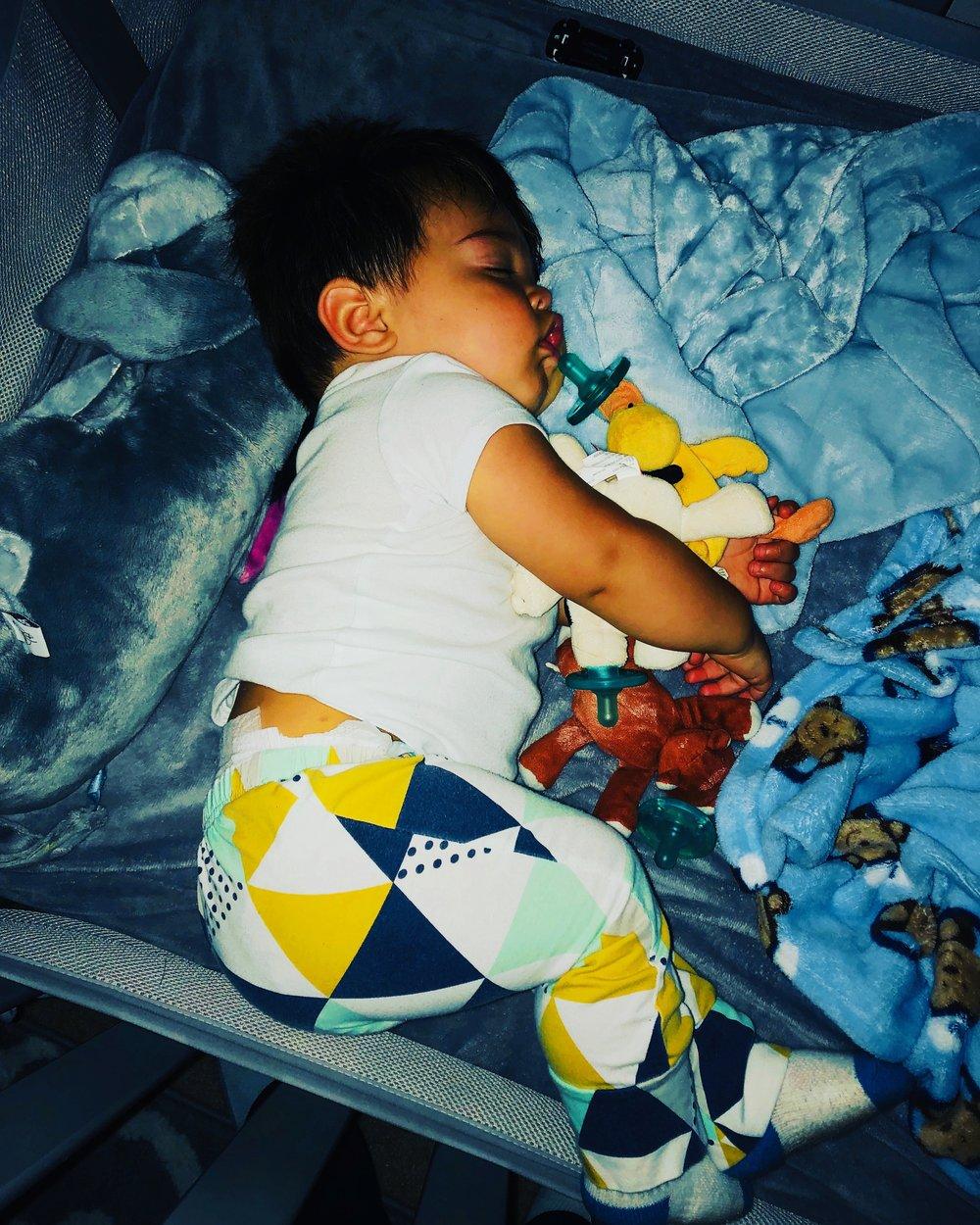 Wubbanub pacifiers are great for helping babies sleep