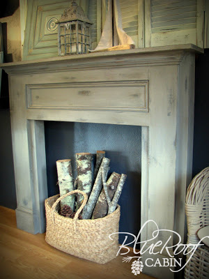 DIY FAUX MANTLE TUTORIAL