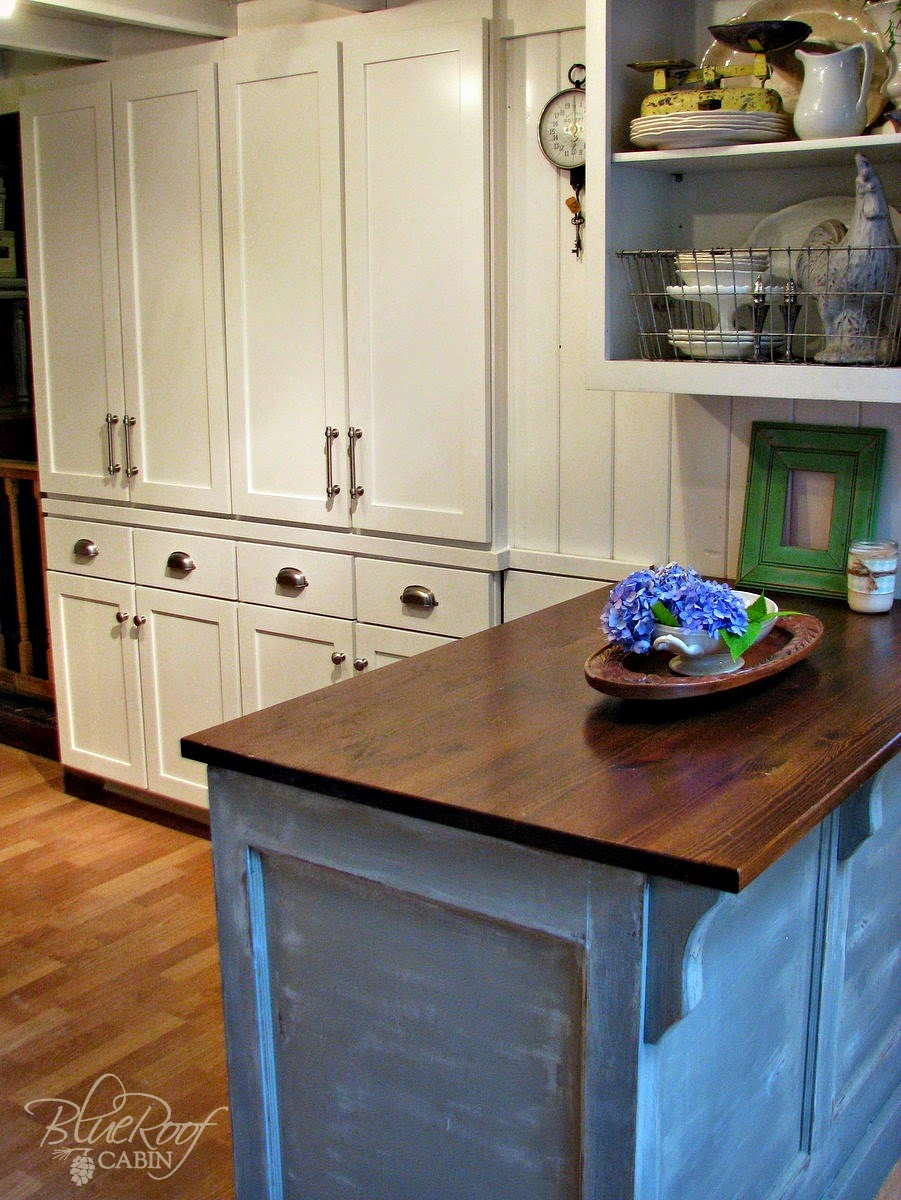 KITCHEN ISLAND FROM A DOOR