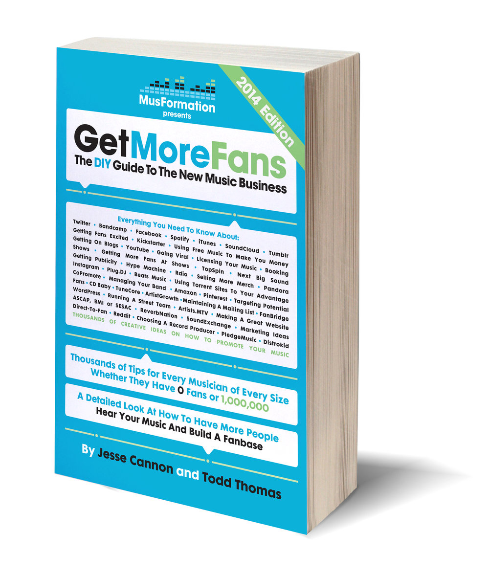 Get More Fans - The DIY guide to the New Music Business