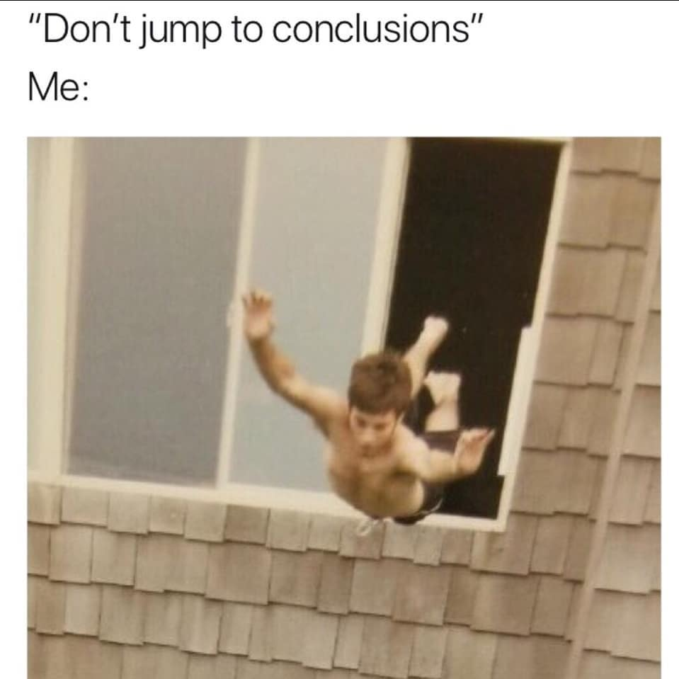 40 Mom Fails In 40 Days 23 Jumping To Conclusions Jennie Loomis