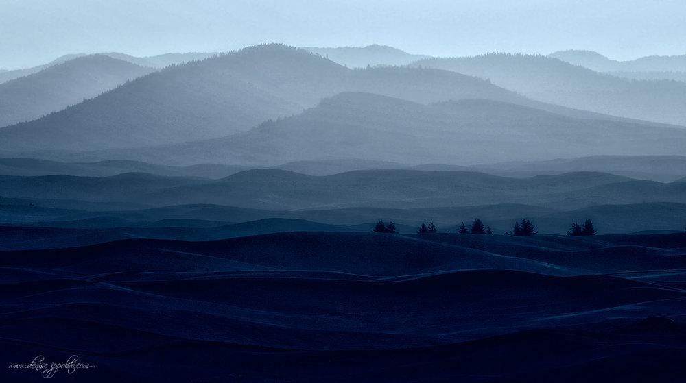 Blue Butte, Palouse