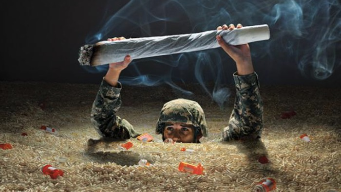 Marijuana and post combat life - Adjusting to civilian life is hard to manage, they care too much about shit that doesn't matter, they don't understand the jokes you make, and least of all do they understand what it's like to be willing to lay down your life for anything let alone the moral fabric of this country. If you are having any trouble at all adjusting to civilian life marijuana may be right for you. Whether you just simply want to be able to relax and watch TV, sleep better at night, have stress free public outings, or you just need something to extend your fuse when dealing with civilian bullshit marijuana can help.