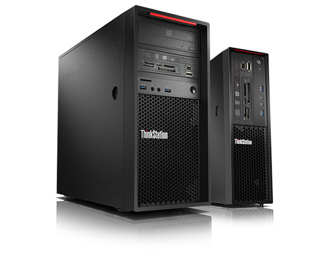 ThinkStation and ThinkCentre Desktops