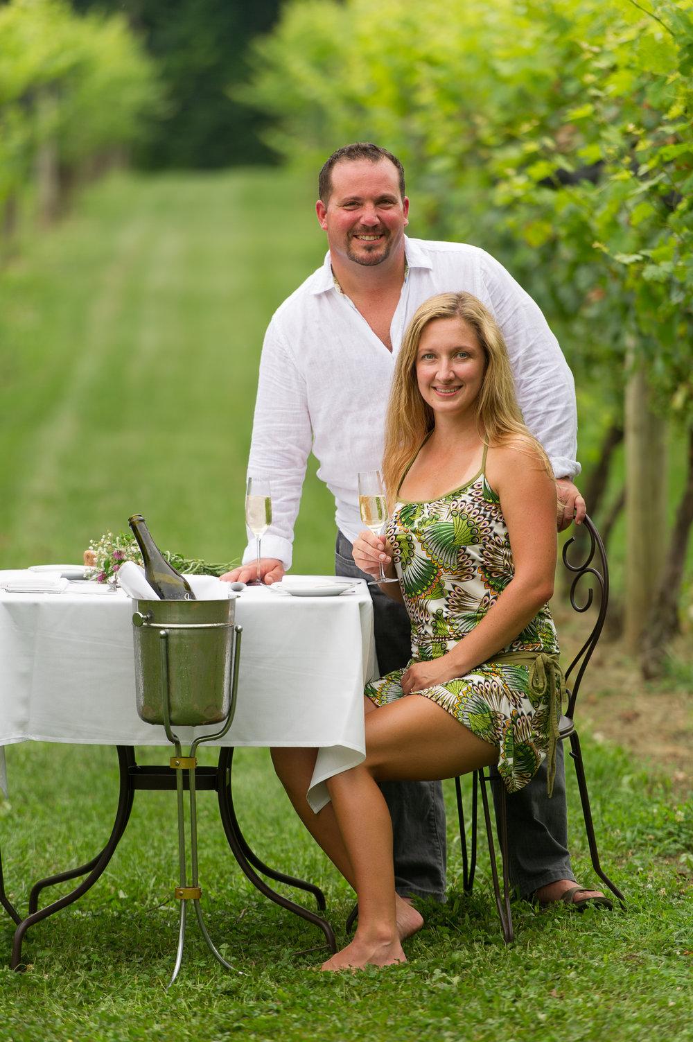 Who is Jean Farris? - Benjamin Farris O'Daniel and Jeanie Lynn Looney O'Daniel founded Jean Farris Winery & Bistro August 2003.