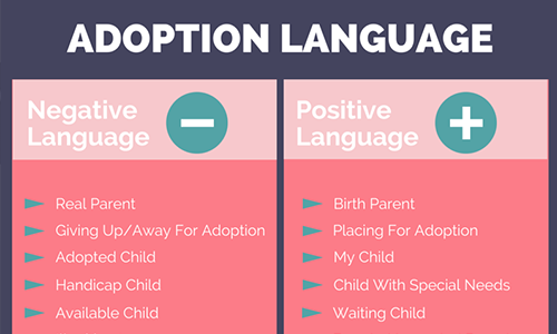 9 Phrases to Make Your Adoption Vocabulary More Positive -