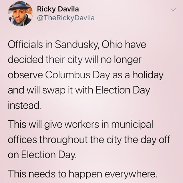 How cool is this? Go Sandusky!  #vote #votingrights #rockthevote #voteohio #democracy #nonprofit #buckeyes #buckeyestate #ohio #votingmatters #voting #electionday #holiday #sandusky #sanduskyohio