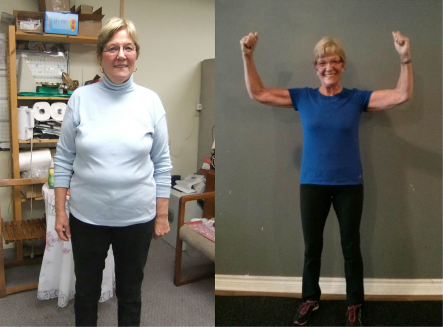 "Faye's down 55lbs at 70 years old. - ""I've never felt better. Now where's that toy boy?!"""