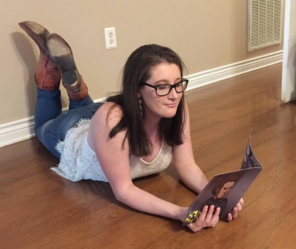 Sierra Reynolds reading Issue #4-2016.jpg
