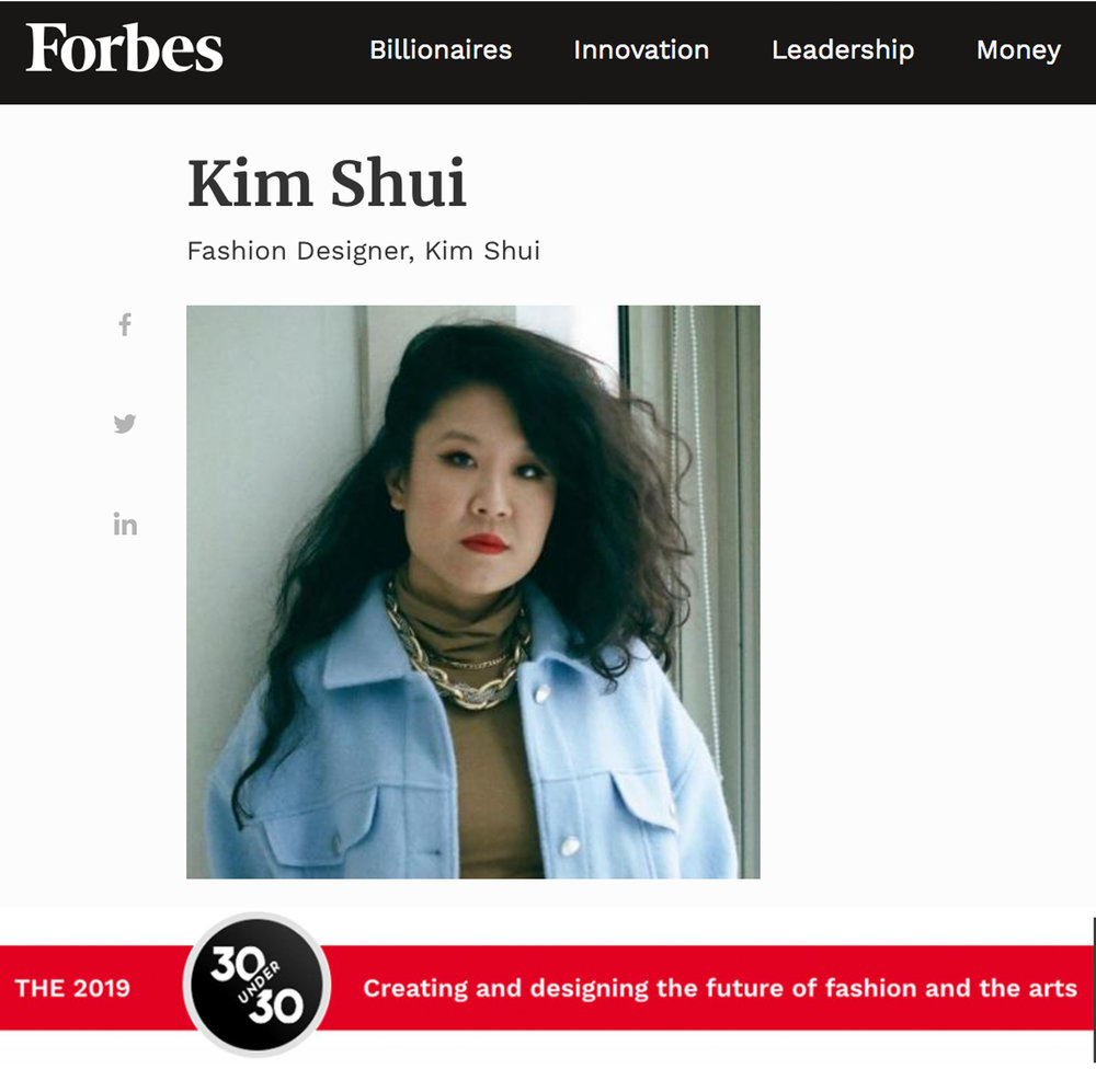 Forbes 30 Under 302019 -
