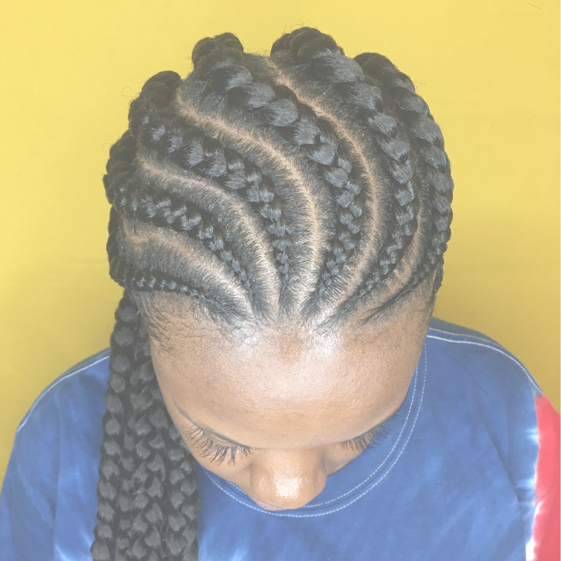 BRAIDS - Feed-in Braids|Updos|Kids braids